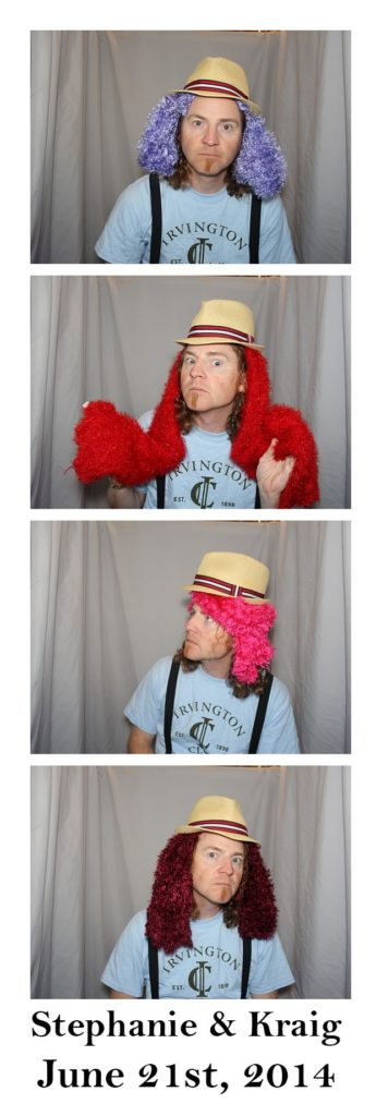 me in the photo booth test shot