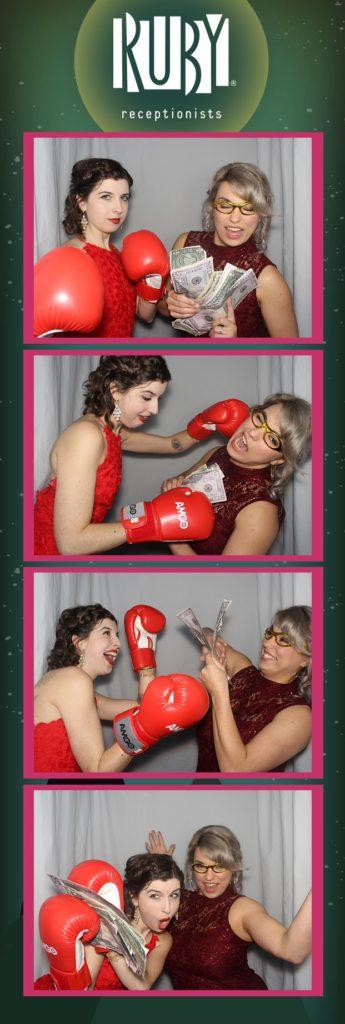 photo booth boxing fun